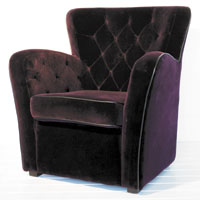 Baker Henry Club Cabernet Chairs