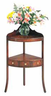 corner hall table. Bevan Funnell Mahogany Etagere Corner Table Hall G