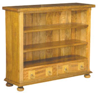 Flagstone Furniture - 2 Drawer Bookcase DW11