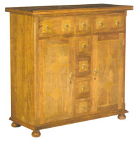 Flagstone Furniture - High Sideboard DW28 (2 shelves per cupboard)