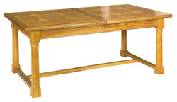 Flagstone Extending Dining Table (closed) DW32