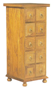 Flagstone Furniture - 10 Drawer CD Chest DWGF2
