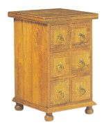 Flagstone Furniture - 6 Drawer CD Chest DWGF4