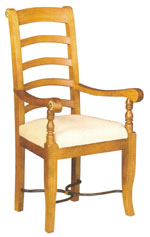 Flagstone Furniture - Upholstered Carver Chair DWGV2