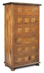 Flagstone Bedroom Furniture 6 Drawer Chest DW04