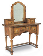 Flagstone Bedroom Furniture Dressing Table and Mirror DW07