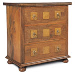 Flagstone Bedroom Furniture 3 Drawer Chest DW13