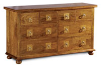 Flagstone Bedroom Furniture 8 Drawer Chest DW25