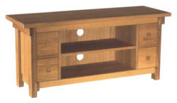 ISO Furniture - Lamp Table with Drawers IS35