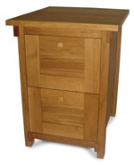 ISO Furniture - 2 Drawer Filing Cabinet ISB03