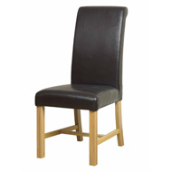 Dining Chair Brown Bi-Cast