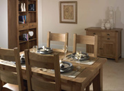 Lynx Dining - Mark Webster Designs - Solid Oak Furniture