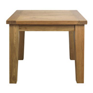 Square Fixed Top Dining Table