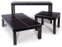 Max Furniture - Jessica Coffee Table (Leather Effect) JESS01