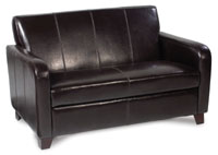 Max Furniture - Max 2 Seat Sofa (By Cast Leather) MAX13