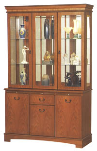 Quinn Furniture 4ft Display Cabinet P3