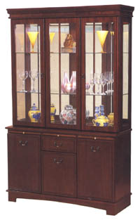 Quinn Furniture 4ft Display Cabinet