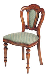 Sutton Park Furniture - Admiralty Dining Chair with Upholstered Back SP201