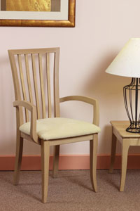 Vale Furniture Slatted Carver Chair