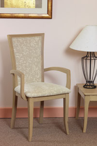 Vale Furniture Upholstered Carver Chair